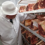 Checking beef products